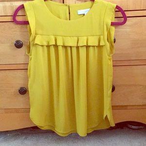 LOFT Sleeveless blouse top